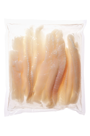 dolly bag: Pangasius Hypophthalmus dolly fish meat in plastic container