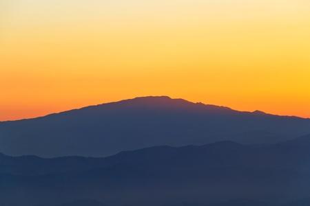 Mountain Twilight Stock Photo - 13350047