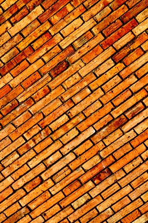 Red brick wall Stock Photo - 13350064