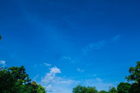 美しい雲と空 写真素材
