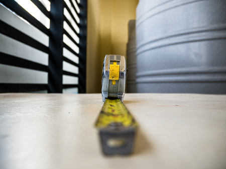 Measuring Tape on the table
