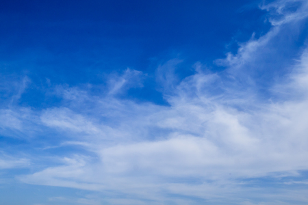 Blue sky with white clouds in the afternoon. Stock Photo - 91706240