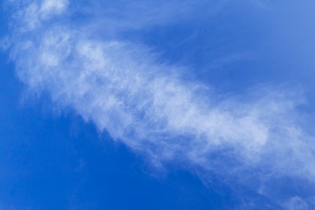 Blue sky with white clouds in the afternoon. Stock Photo - 91715499