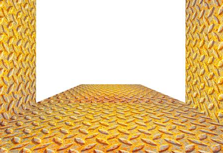 rust floor on isolated