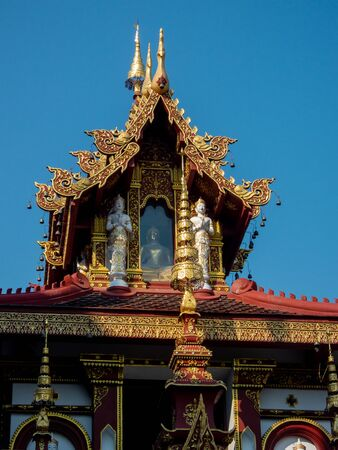 Wat Saen Mueang Mai Luang.Wat Saen Mueang Ma Luang Is a temple in Phaya Mueang Kaew The King of Mangrai, No. 11, was created as a royal charity to Phaya Saen Muang.