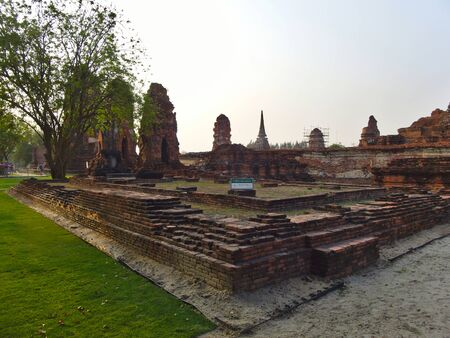 The Wat Mahathat Temple of the Great Relic is a Buddhist temple in Ayutthaya, central Thailand.