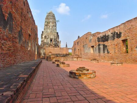 Wat Ratchaburana is a temple in Phra Nakhon Si Ayutthaya Historical Park. The chief pagoda of the temple is one of the best temples in the city. Located in the part of Ayutthaya Island.