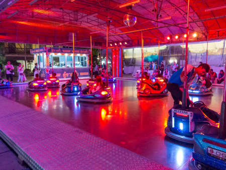 Asiatique BANGKOK,THAILAND-01 AUGUST 2018: Amusement park players are available in this place. on, 01 AUGUST 2018, in Thailand.