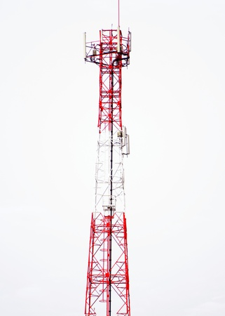 Telecommunications tower used to transmit cellular