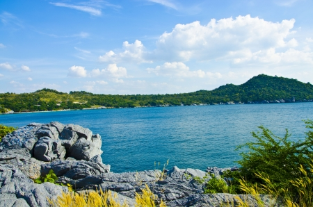 View of Ko Si Chang ,Eastern Thailand Stock Photo