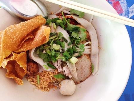 style: Thai noodle style