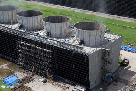 Cooling tower of power plant