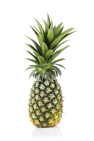 pineapple slice: Fresh pineapple with isolated on white