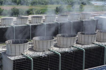 発電所冷却塔