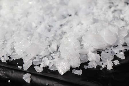 Sodium hydroxide flake dangerous chemical