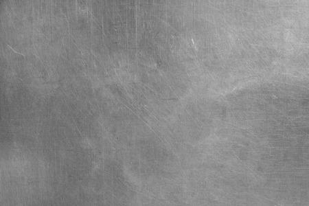Brushed silver metallic background Standard-Bild