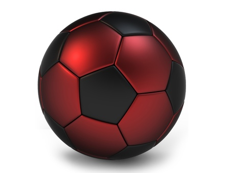 football soccer ball isolated on white  Stock Photo - 11041078