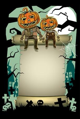 halloween party: De heer Pompoen Halloween masker
