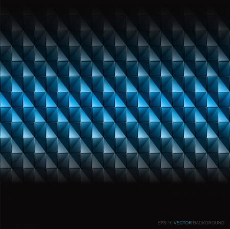 抽象的なブルー ダイヤモンドの背景。ベクトル。Eps 10。