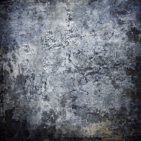 dark room: Old grunge wall background
