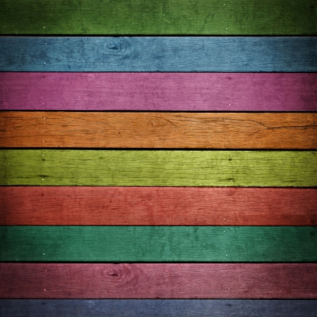 vintage timber: abstract colorful wood background.