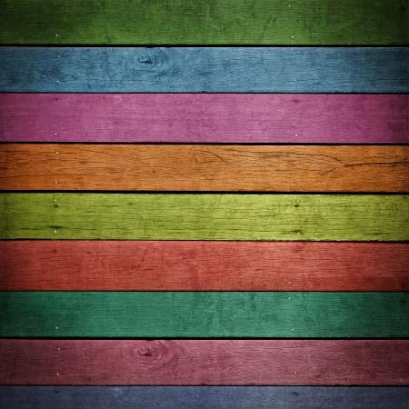 puertas de madera: resumen de antecedentes de madera de colores.