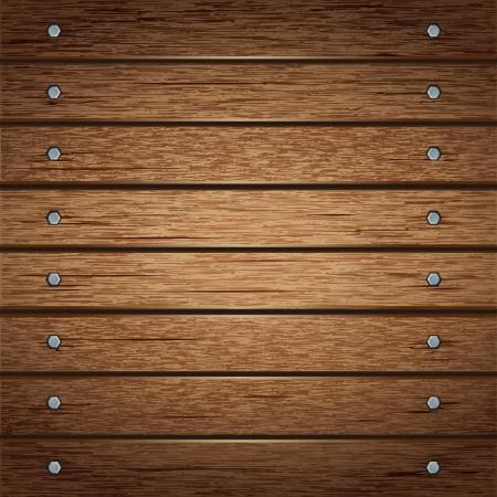 puertas de madera: Textura de madera del fondo del vector ilustrador Vectores