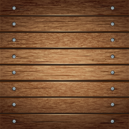 Wooden texture background  vector illustrator Vector