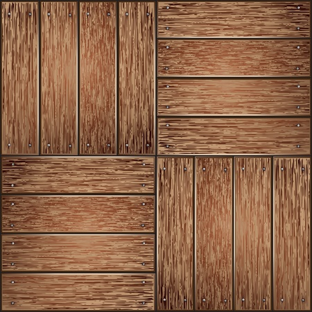 wooden texture background Stock Vector - 12801595