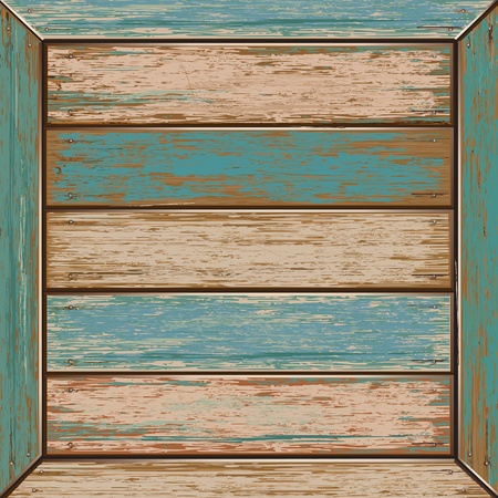 old door: Old color wooden texture background  vector illustrator