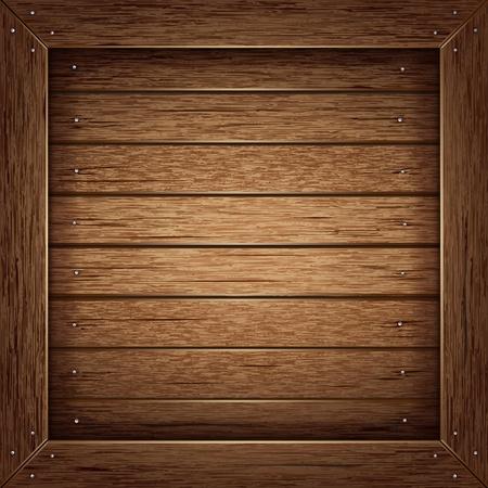 planche de bois: Texture de fond en bois Illustration