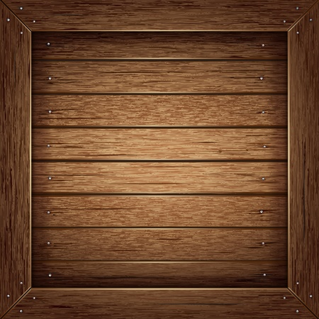 brown box: Texture di sfondo in legno Vettoriali