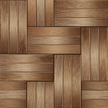 tiled: Wooden texture background  vector illustrator