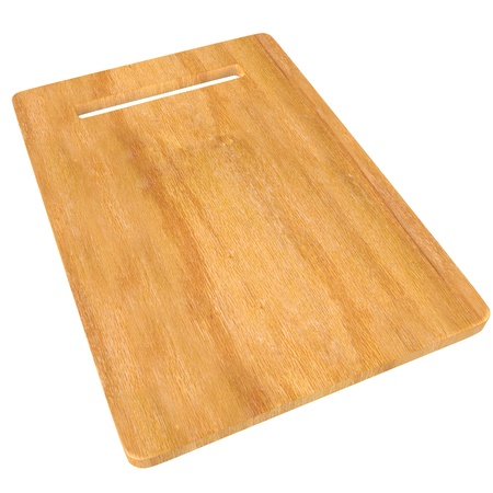 chopping: Wood Chopping board isolated on white background with Clipping path.