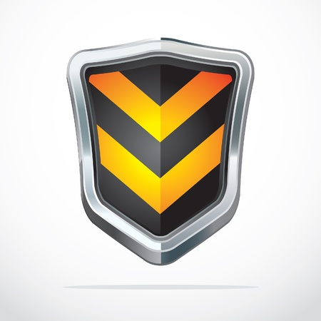 specials: Protection shield security icons illustration