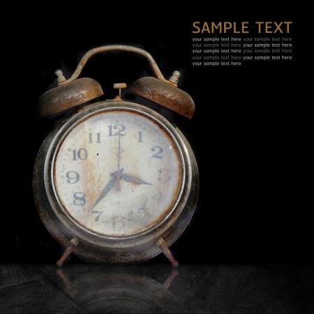 orologi antichi: Vecchio orologio arrugginito.