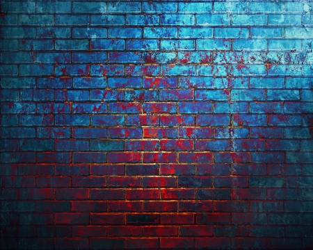 Dark brick wall background  photo