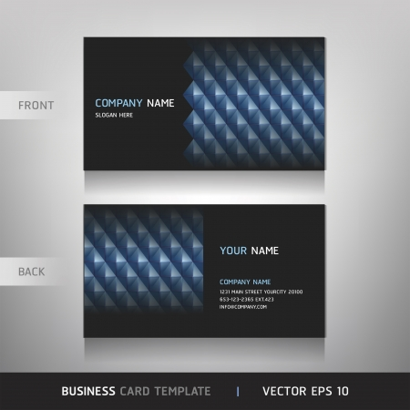 Business Card Set  Vector illustration Stock Vector - 15514770