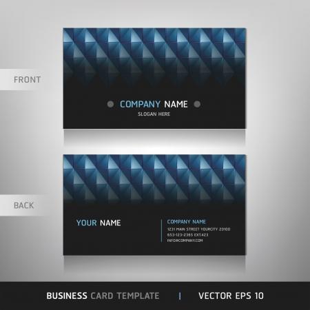 Business Card Set  Vector illustration   Stock Vector - 15514710