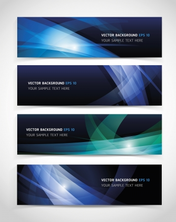 web graphics: Vector Abstract Header Background.