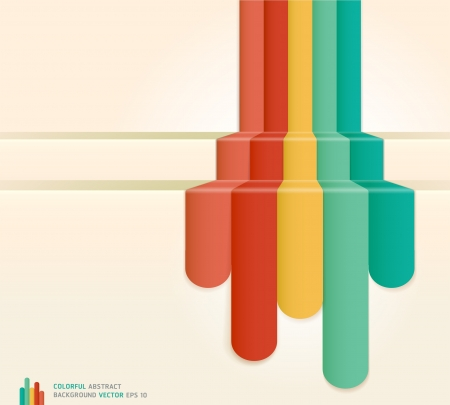 bijsluiter: Kleurrijke Abstracte Achtergrond Stock Illustratie