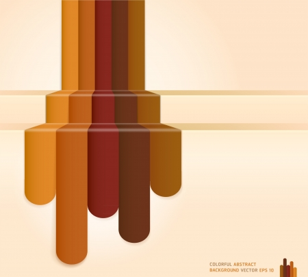 Retro Brown Colour Abstract Background   Vector