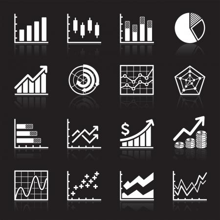 Zakelijk Infographic icons - Vector Graphics