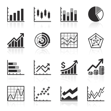 pie diagrams: Business Infographic icons - Vector Graphics