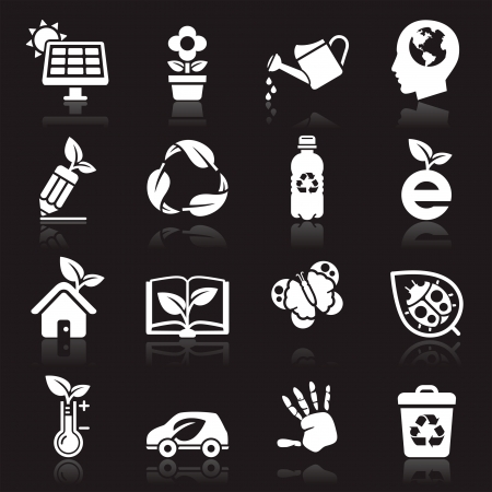 Ecology icons  Stock Vector - 16638509