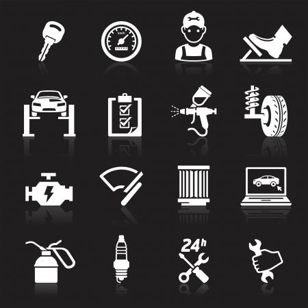 Servicio de mantenimiento de autom�viles icono