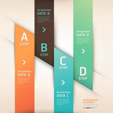 triangle button: Estilo moderno origami opciones de banner. Vector ilustraci�n. se puede utilizar para el dise�o de flujo de trabajo, diagrama, las opciones num�ricas, aumentar las opciones, dise�o web, infograf�a.