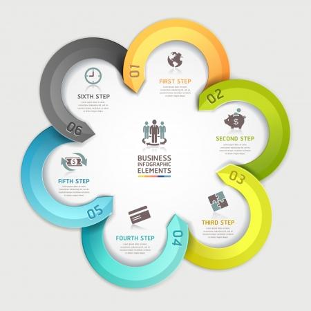 инфографики деловых кругов
