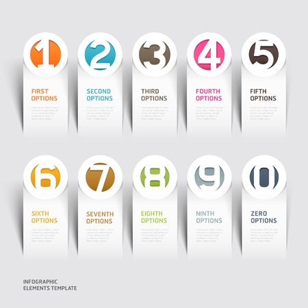 diagrama: Papel moderno corte ilustración plantilla se puede utilizar para el diseño del flujo de trabajo, diagrama, las opciones de paso de negocio, bandera, diseño web, diseño de número, elemento de infografía