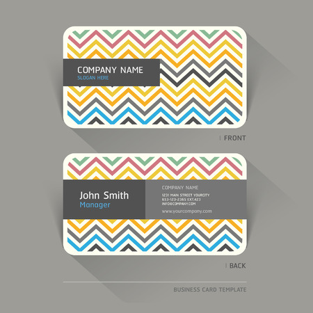Business card abstract background. Vector illustration. Vector